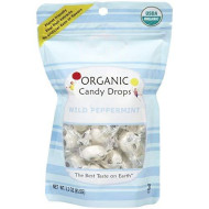 Yummyearth Organic Candy Drops, Wild Peppermint-3.3 Oz