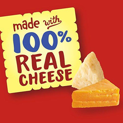 Cheez-It Duoz Baked Snack Cheese Crackers, Sharp