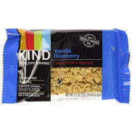 Kind Healthy Grains Granola Bars Vanilla Blueberry, 175 G -- 3 Boxes