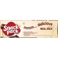 Snack Pack Chocolate And Vanilla Pudding Cups Family Pack, 12 Count, 6 Pack