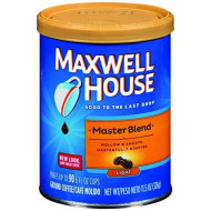 Maxwell House Master Blend Mild Ground Coffee 11.5 Oz (Pack Of 6)