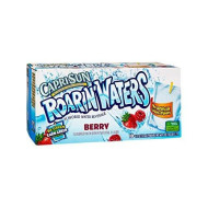 Capri Sun Roarin Waters Flavored Beverage Pouches, Berry, 60 Ounce