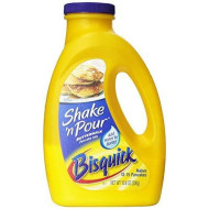 Bisquick SHAKE 'N POUR Buttermilk Pancake Mix 10.6oz (4 Pack) by Betty Crocker