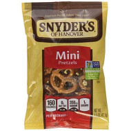 Snyder'S Of Hanover Mini Pretzels, Single-Serve 1.5 Ounce, 48 Count