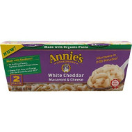 Annies Homegrown White Cheddar Macaroni And Cheese, 4.02 Ounce (Pack Of 6)