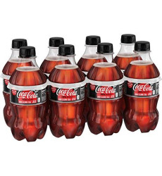 Coke Zero Sugar Diet Soda Soft Drink, 12 Fl Oz, 8 Pack