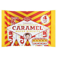 Tunnock's Real Milk Chocolate Caramel Wafer Biscuits 20X4X30G