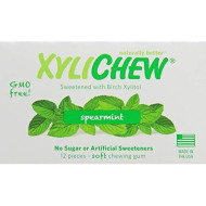 Xylichew Spearmint Counter Display Chewing Gum, 12 Count