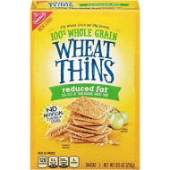 Wheat Thins Reduced Fat Crackers, 8.5 Ounce (Pack Of 6)