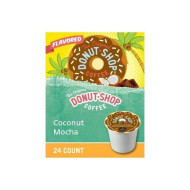 The Original Donut Shop Coconut Mocha Coffee, 24 Count (2 Pack)