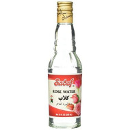 Sadaf Rose Water Glass Bottle, 10 fl. oz.