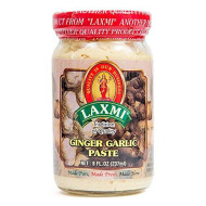 Laxmi Traditional Indian Ginger Garlic Cooking Paste, 8 Ounces