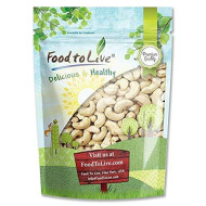 Raw Cashew Nuts By Food To Live, Whole, Unsalted, Bulk - 1 Pound