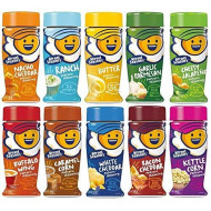 Kernel Season'S Popcorn Seasoning Large Sampler Pack 2.7Oz Container (Variety Pack Of 10 Different Flavors)