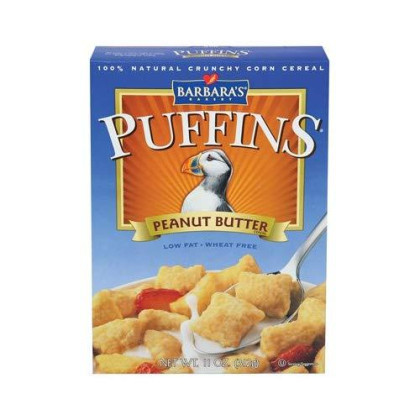 Barbara'S Peanut Butter Puffins 11 Oz (Pack Of 3) - Pack Of 3