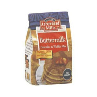 Arrowhead Mills Organic Buttermilk Pancake Waffle Mix 26 Oz (Pack Of 6) - Pack Of 6