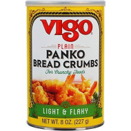 Vigo Vigo Plain Panko Bread Crumbs, 8 Ounce (Pack Of 6)