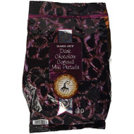 Trader Joes Dark Chocolate Covered Mini Pretzels (12 Oz)