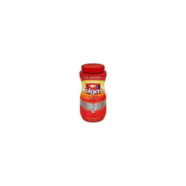 Shop Folgers Classic Roast Instant Coffee Crystals - 16 Oz (Pack of 2) Online at Low Prices in ...