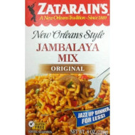 Zatarains Original Jambalaya Mix, 8 Ounces, Pack of 4