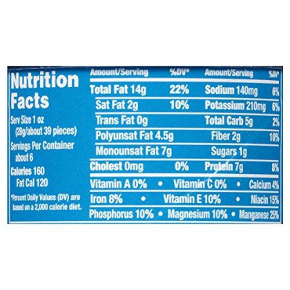 Planters Flavored Peanuts, Chipotle, 6 Ounce Canister (Pack Of 8)