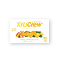Xylichew - Naturally Better Sugar-Free Chewing Gum, Fruit - 4 Pack Of 60 Pieces, 2.75 Oz, (240 Pieces Total)