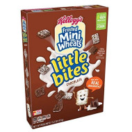 Kellogg'S Breakfast Cereal, Frosted Mini-Wheats, Little Bites, Chocolate, Low Fat, Excellent Source Of Fiber, 15.2 Oz Box