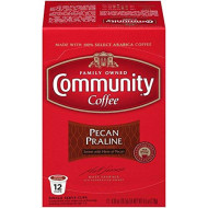 Community Coffee Pecan Praline Coffee K-Cup Pods, 12 Ct