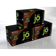 Singlecup Jo Variety Pack: 36 Cup Single Serve Organic Coffee For Keurig K-Cup brevers, Keurig 1.0 & 2.0 Eco-Friendly Cup, Great Coffee Gift!, Includes Wild Jo, New York Jo, Morning Jo 12 Cup Cartons