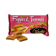 Pamela's Products Gluten Free Figgies & Jammies Cookies, Raspberry & Fig, 9 Ounce (Pack of 6)