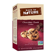 Back To Nature Non-Gmo Cookies, Chocolate Chunk, 9.5 Ounce