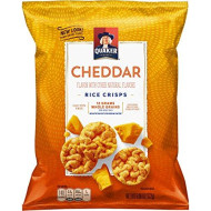 Quaker Rice Crisps, Cheddar Cheese, 6.06 Oz Bags, 6 Count (Packaging May Vary)