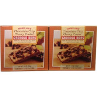 Trader Joe'S Chocolate Chip Chewy Coated Granola Bars, 7.4 Oz (2 Pack)