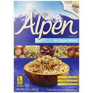 Alpen Cereal, No Sugar Added, 14 Ounce