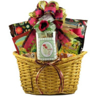 Especially For Her! Sugar Free Gift Basket For Women With Savory Snacks, Sugar Free Sweet Treats And A Journal