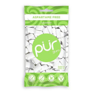 The Pur Company | Sugar-Free + Aspartame-Free Chewing Gum | 100% Xylitol | Coolmint | Vegan + Non Gmo | 55 Pieces Per Bag