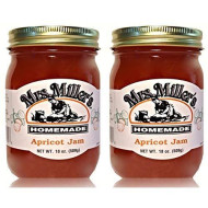 Mrs. Miller'S Amish Homemade Apricot Jam 18 Oz/509G - 2 Jars