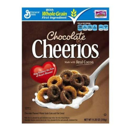 Cheerios Chocolate Cereal, 11.25-ounce Box (Pack of 2)