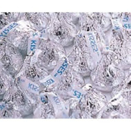 Silver Hershey'S Kisses Milk Chocolate Candy 5Lb Bag