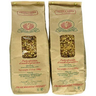 Rustichella D'Abruzzo Durum Wheat Fregola Sarda Pasta, 17.6 Ounce (Pack Of 2)
