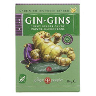 The Ginger People Original Ginger Chews - Large 84G (Pack Of 12)