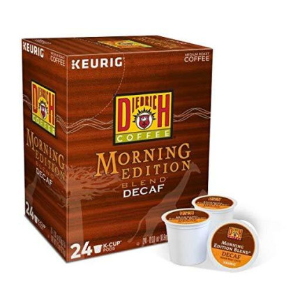 Diedrich Coffee Morning Edition Blend Decaf K-Cups
