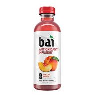 Bai Panama Peach, Antioxidant Infused Beverage, 18 Ounce Bottle