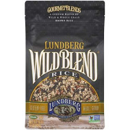 Lundberg Wild Blend Rice, 16 Ounce, Gourmet Wild and Whole Grain Brown Rice Blend