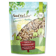 Walnuts By Food To Live (Raw, Kosher, Shelled, Unsalted, Natural, Bulk)