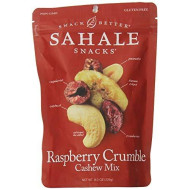 Sahale Snacks Raspberry Crumble Nut Mix, 8 Oz., Pack Of 1 Nut Snacks In A Resealable Pouch, No Artificial Flavors, Preservatives Or Colors, Gluten-Free Snacks