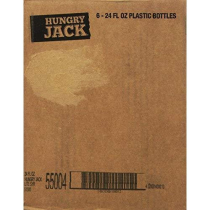 Hungry Jack Lite Syrup, 24 Fluid Ounce (Pack Of 6)