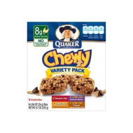 Quaker Chewy Variety Pack Granola Bars 6.7 Oz Box (Pack Of 2) 16 Bars Total