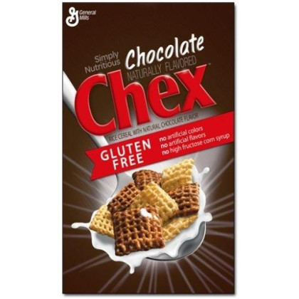 Chex Gluten Free Chocolate Chex Cereal, 12.8 Ounce - 12 Per Case.