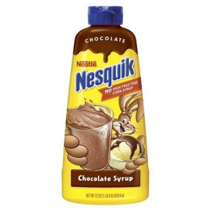 Nesquik Chocolate Syrup 22 Oz (Pack Of 24)